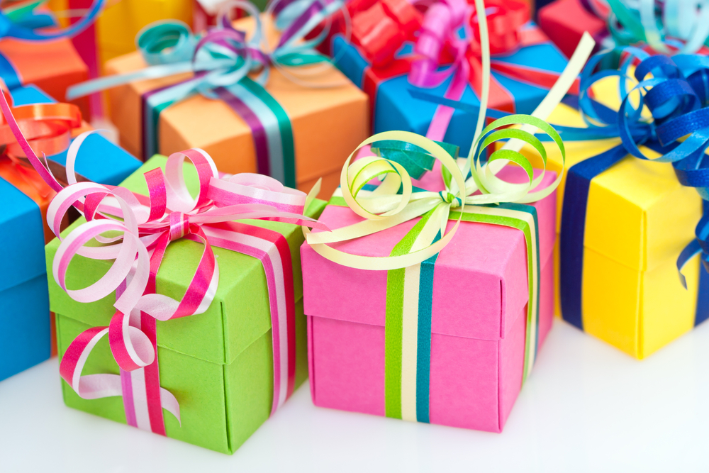 Вручение призов и подарков